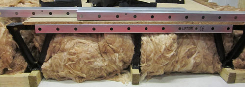 Raised platfrom allows you to use the loft for storage and improve loft insulation