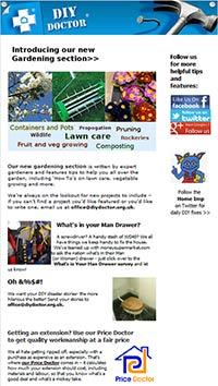 New design for newsletter