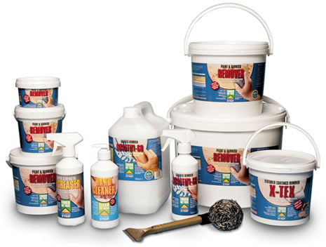 ECO Solutions' range of safer paint and coverings strippers