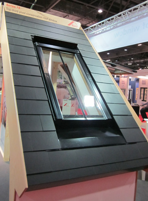 Rotor roof rooflight in slate roof Move Over Velux, New Rooflight Company Coming Through!