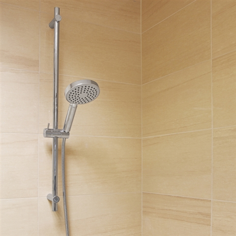 Fit a power shower and make your bathroom beautiful