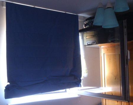 Keep curtains and blinds closed to keep out the heat from the sun