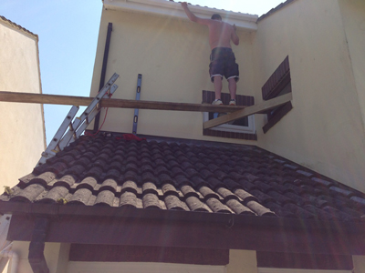 Bad working practices for builders - DIY Scaffold