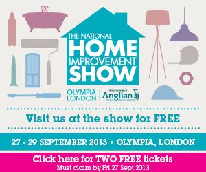 National Home Improvement Show 2013 300X250 static v4 Whats On at The National Home Improvement Show   Olympia