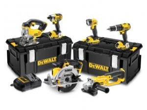 DCK691M3 6 Piece Cordless Kit 2 Speed 18 Volt 3 x 4.0ah Li-Ion, from DeWalt