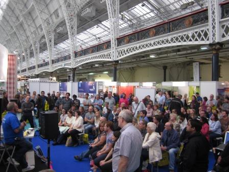 DIY Doctor offers Eco Solutions products crowds at Olympia How to Plaster Walls and Ceilings