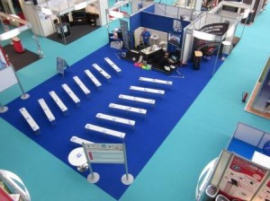 Sound Testing on Stage at The National Homebuilding Show