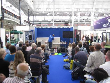 Tiling Presentation by DIY Doctor Olympia London Sandown Show Offer   Get a Pair of Tickets from DIY Doctor