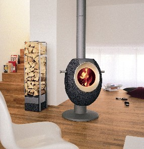 The Stylish Wood Burning Stove T-EYE