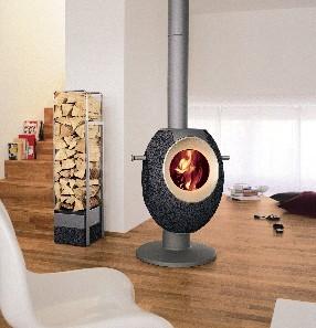 The Stylish Wood Burning Stove T-EYE
