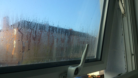 Condensation on a window1 Top 5 DIY Tips and Tools to Beat Condensation