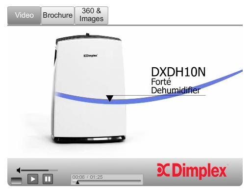 Dimplex Dehumidifier