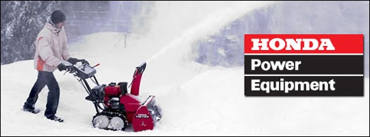 Honda Snow Blower Feature Guide Cold Weather's a Breeze with Honda's Winter Range