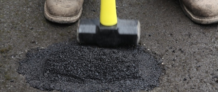 Get Prepped for Winter – DIY Driveway and Pothole Repair