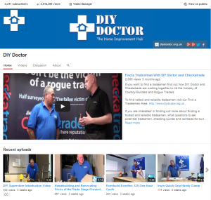DIY Doctor on YOu Tube - 2 million Views and Counting
