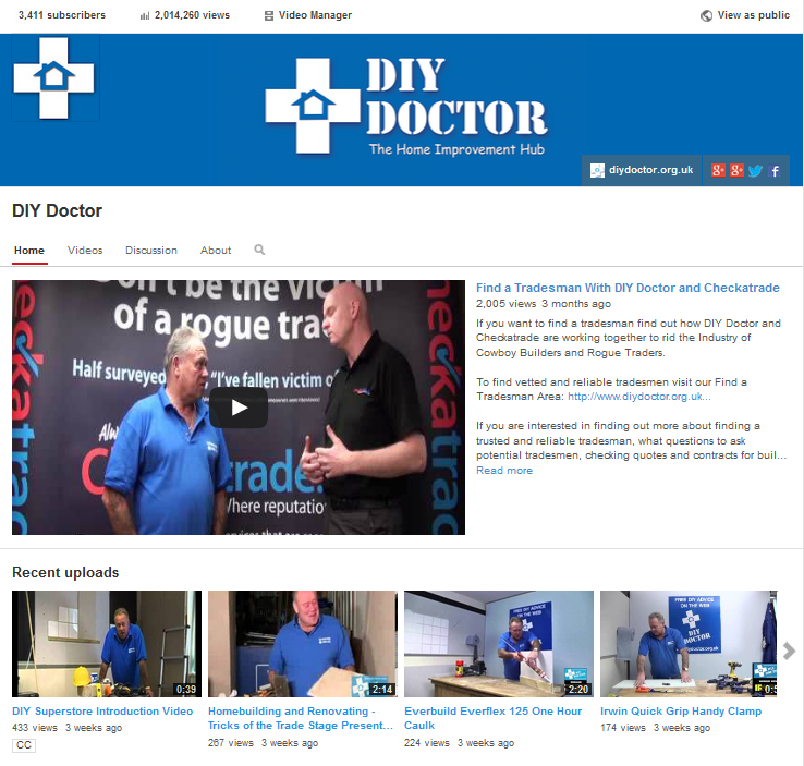 DIY Doctor Gets to 2 Million Video Views on You Tube – Thank You to Everyone Who Supports Us