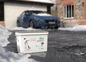 Products to fix potholes