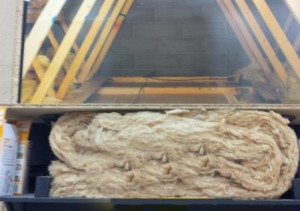 Incorrectly Fitted Loft Insulation