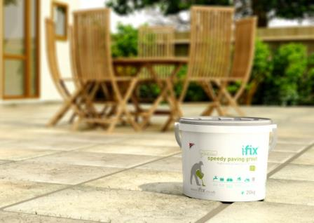 Ifix Grouting Products Patio Repairs