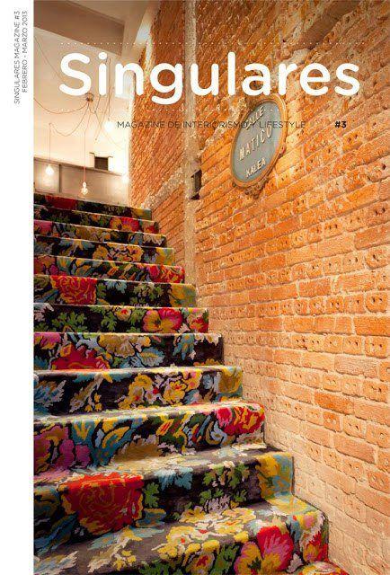 Floral Stair Carpet