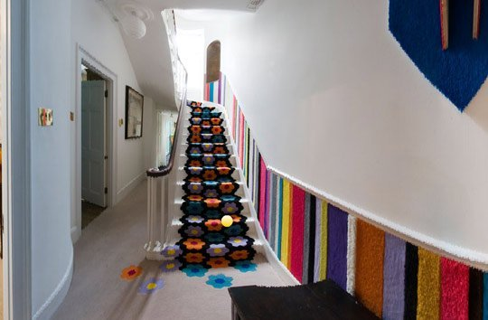 Crochet Stair Carpet