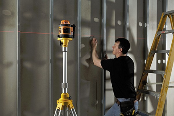 Using a Laser Level on site