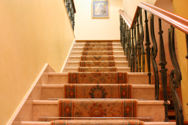 Oriental Style Stair Runner