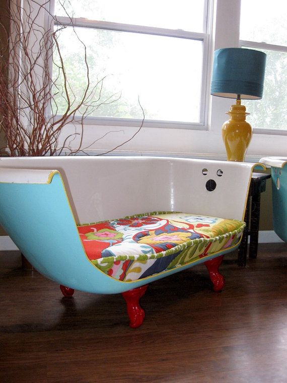 Sofa made from an Old Bath