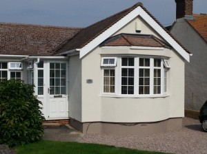 Insulation Coloured External Render  Protherm Insulation Render Bungalow