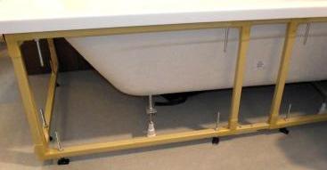 Acrylic bath cradle
