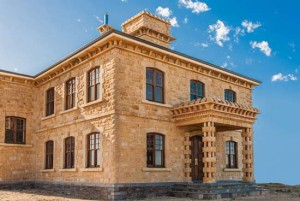 A beautiful sandstone façade