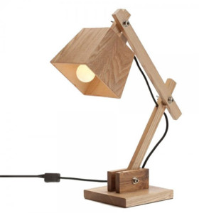 great ideas for making your own wooden table lamps. Black Bedroom Furniture Sets. Home Design Ideas