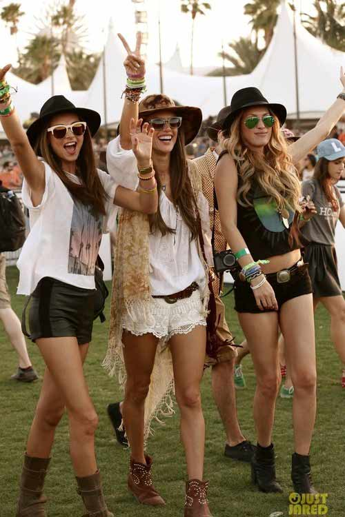Stylish festival hats