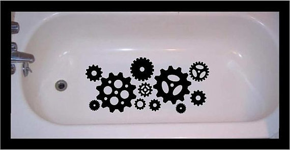 Non Slip Decals for Showers and Baths
