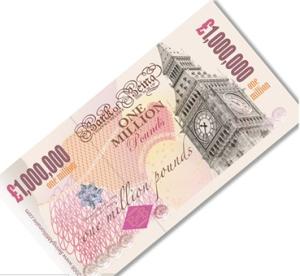 A Million Pound Note gift