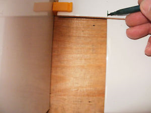 Tile Clip Pro Mark the Bottom of the Tile