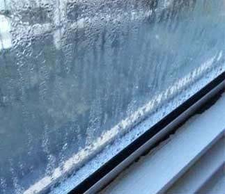Bad condensation issues on window interior
