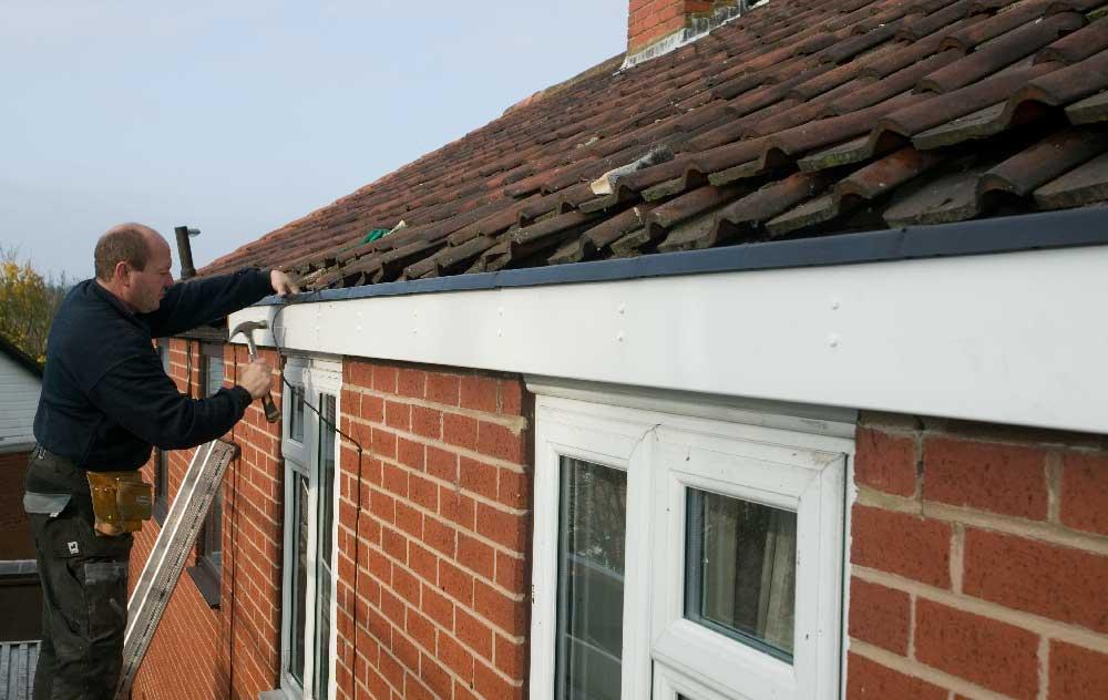 Repairing roofline