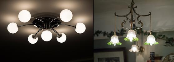 ceiling lights provide the right lighting