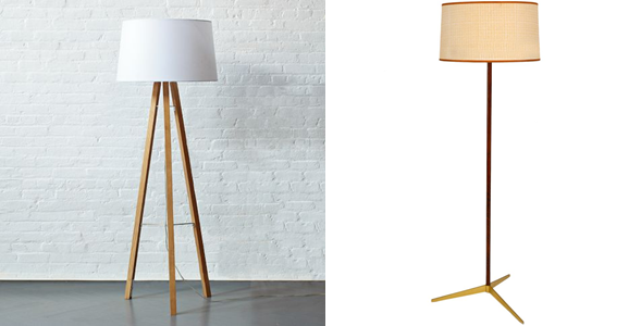 Standard Lamps or Floor Standing Lamps provide the right lighting in the right place