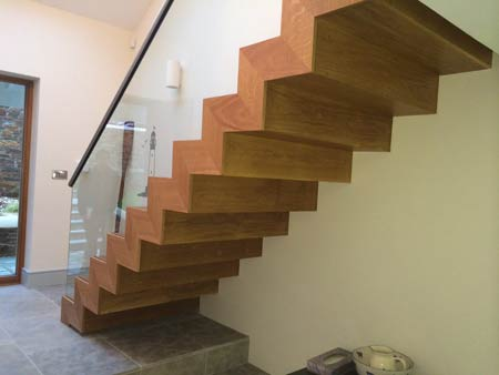 Contemporary modern staircase