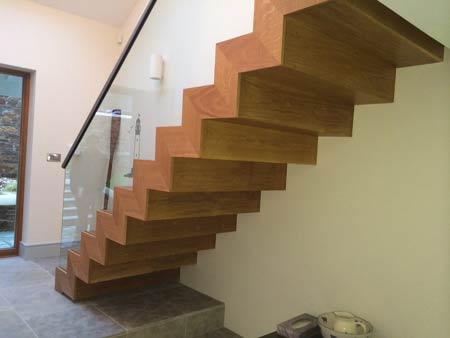 Contemporary modern staircase