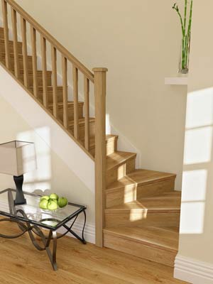 How to choose stairs for your home in 10 easy steps diy for Wood floor 90 degree turn