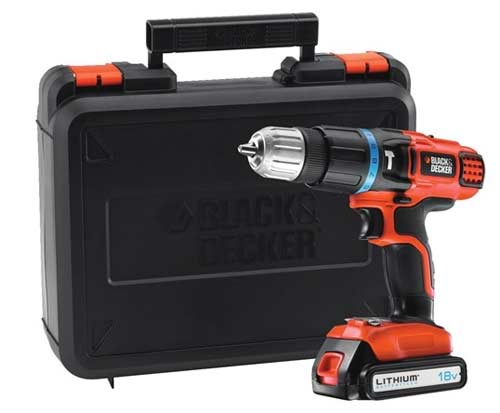 Black and Decker cordless combi drill