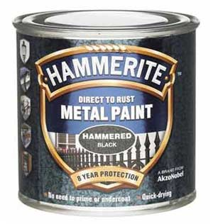 Hammerite hammered effect paint for metal