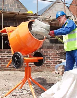 Cement mixers for hire