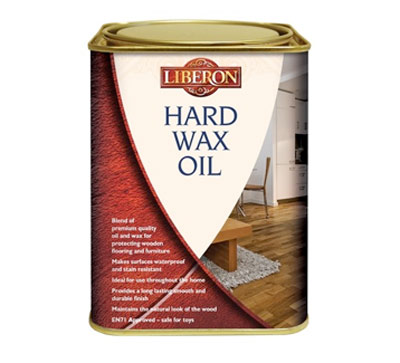 Buy clear Liberon Hard Wax Oil in the DIY Doctor DIY Superstore