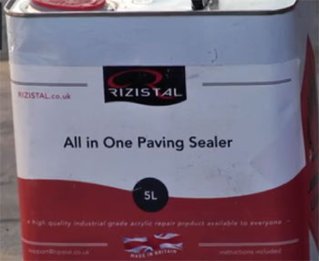 Rizistal All-in-One paving and patio sealer
