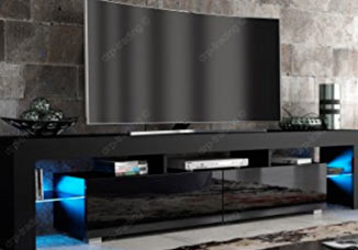 Modern curved screen 51 inch TV