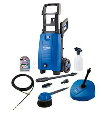 Patio Brush with DIY Doctor pressure washer